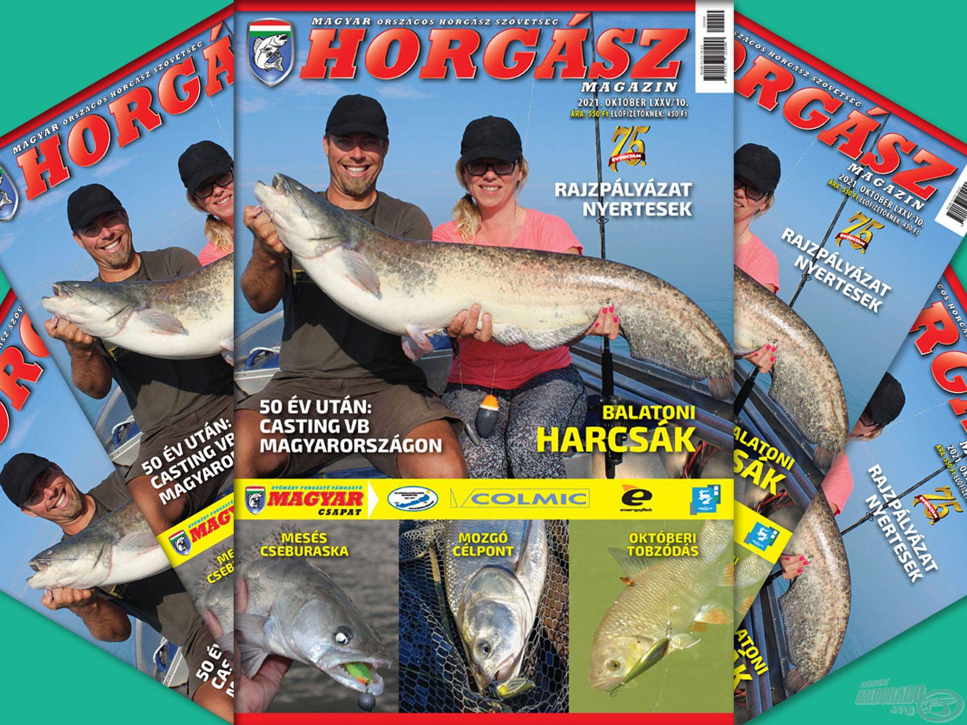 Megjelent a Magyar Horgász 2021. októberi száma