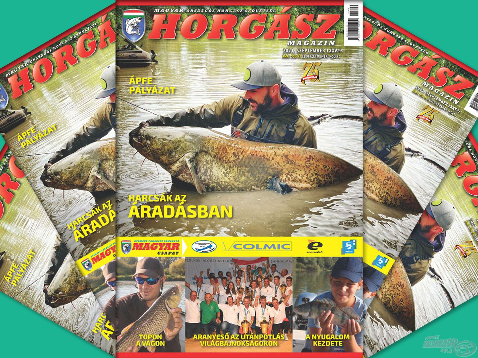 Megjelent a Magyar Horgász 2021. szeptemberi száma