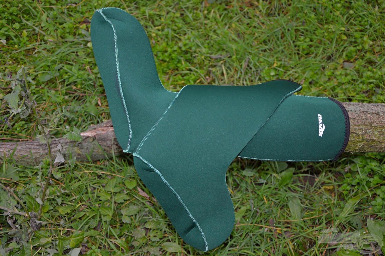 A Nevis neoprén hosszú zokni a lábfejet és a lábszárat is óvja a hidegtől