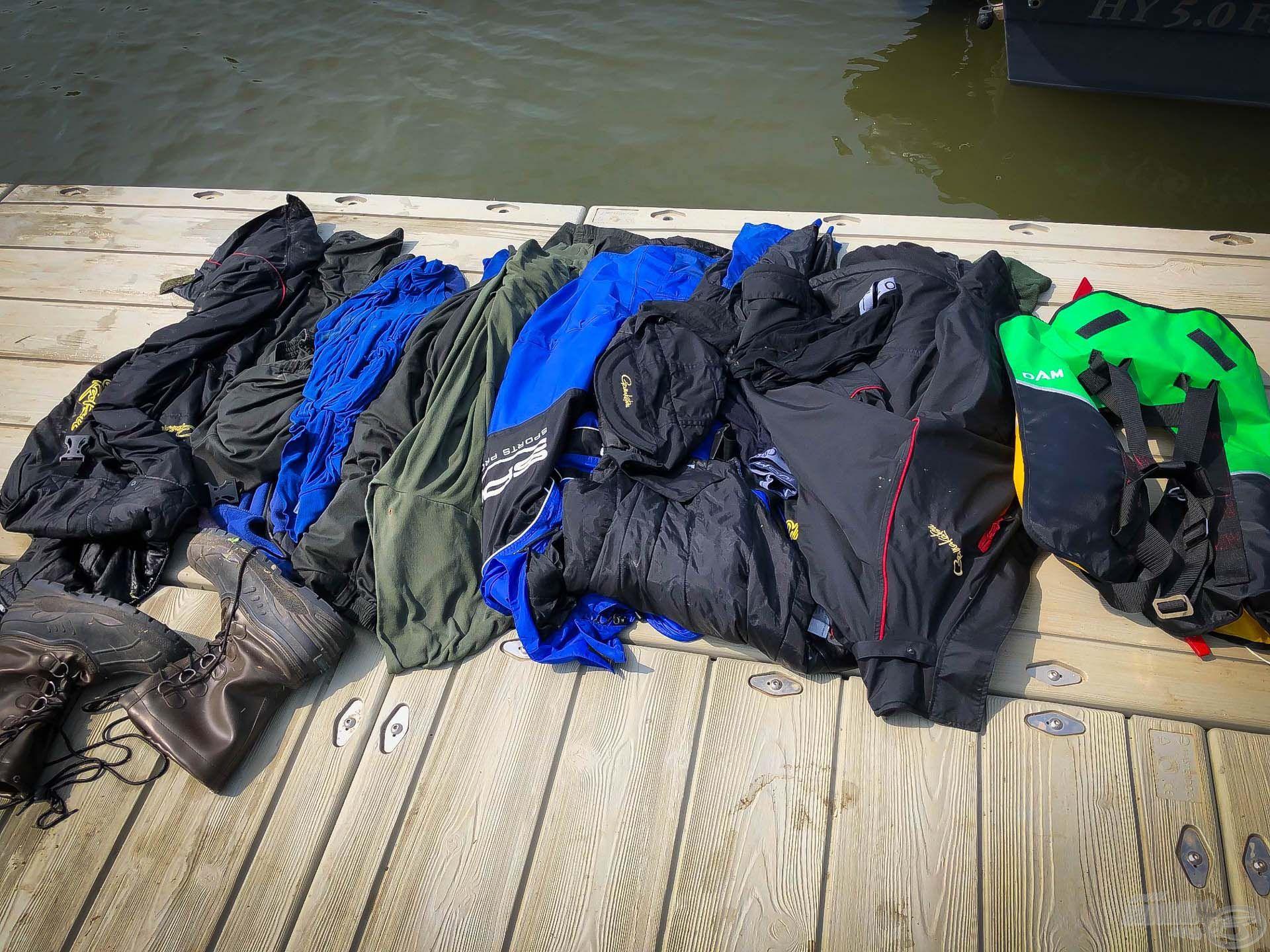 A rengeteg vizes ruha