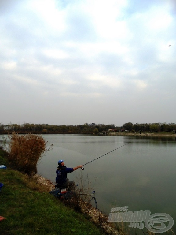 Az Aranypikkely Horgásztó mindig jó fogással kecsegtet