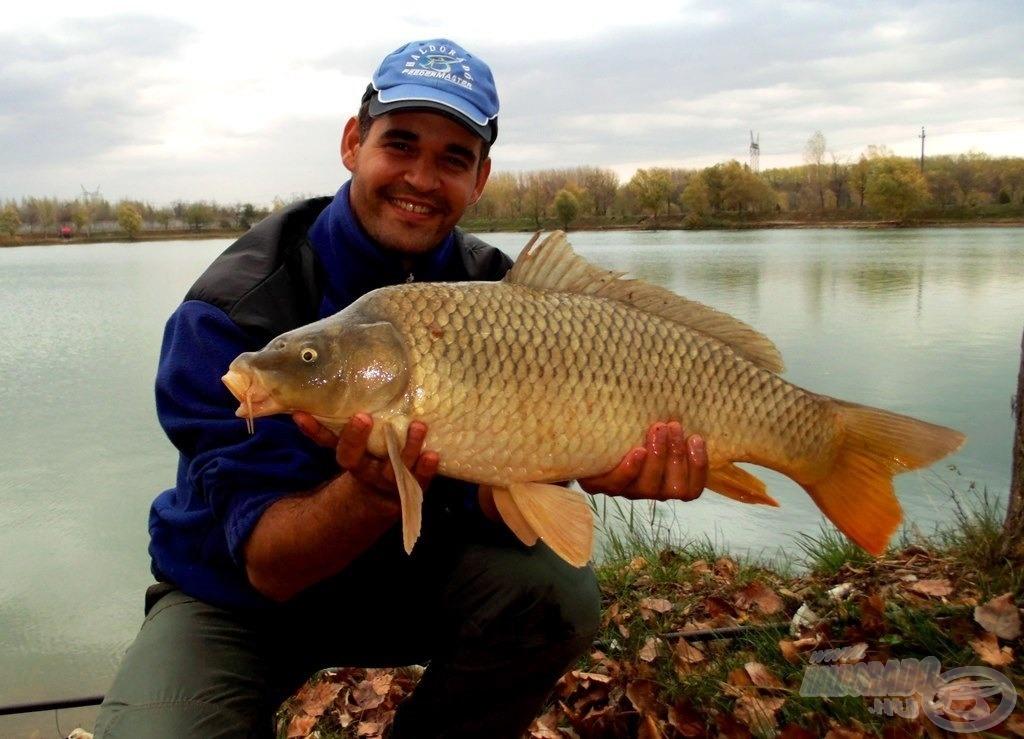 A kitartó horgászt megjutalmazza a víz…
