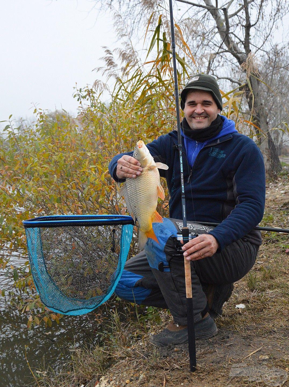 Ilyen szép halak laknak a tó közepén