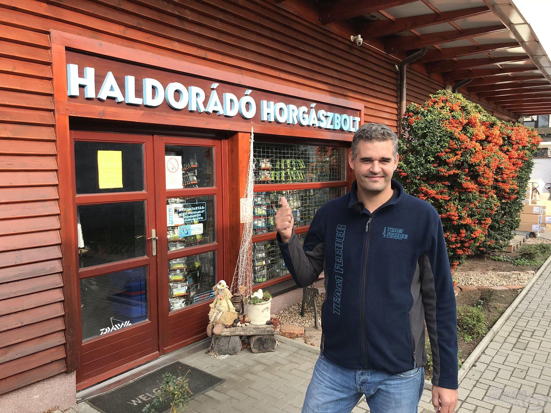 A Haldorádó Centrum az ország egyik legjobban felszerelt horgászboltja, itt mindenki a kedvére válogathat!