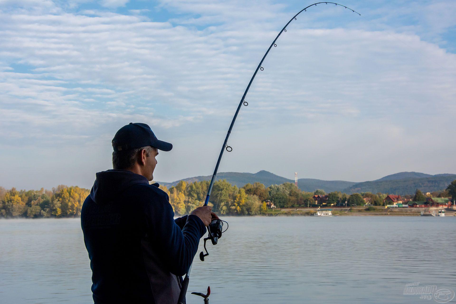 A Big River a gyors folyású vizek meghorgászására való