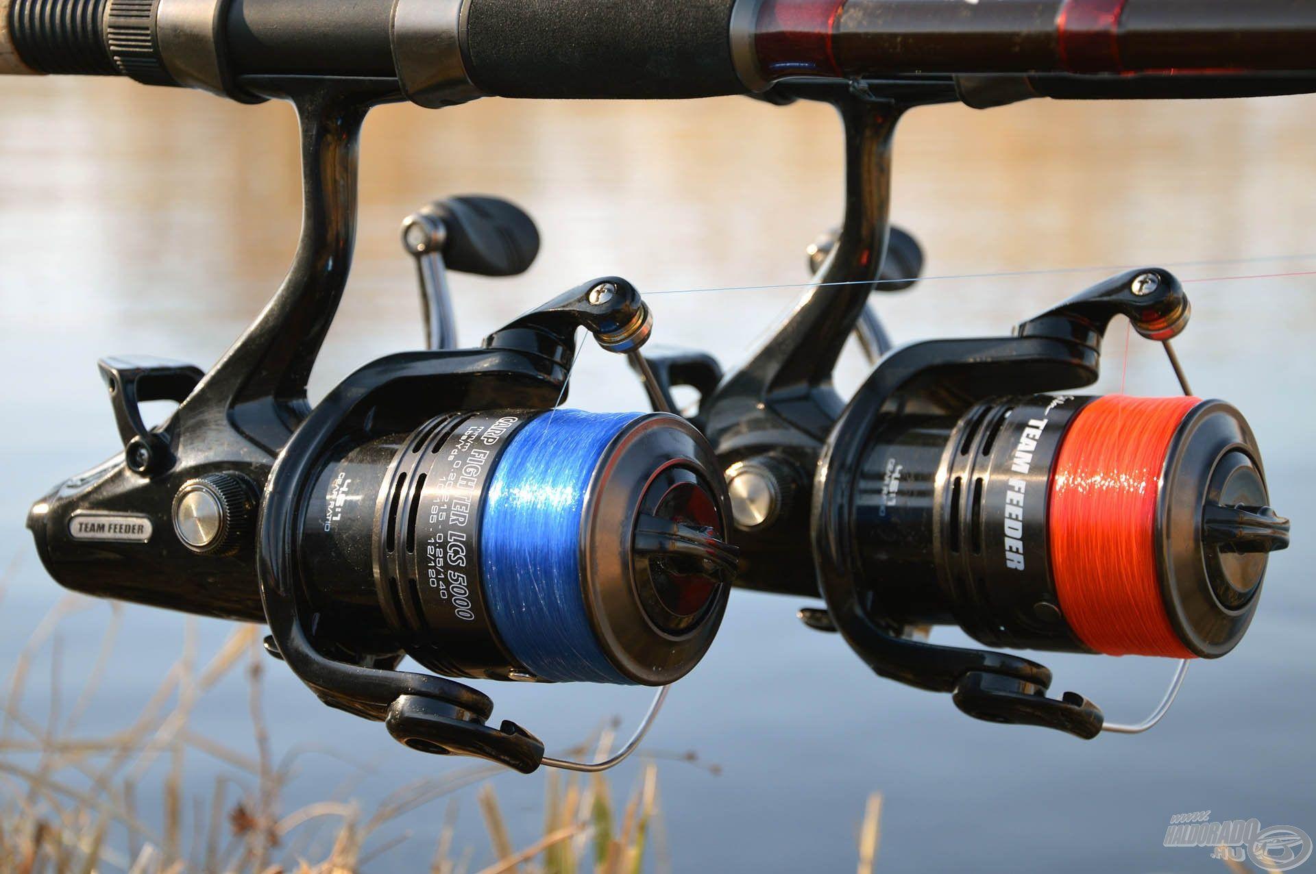 Kezdő horgászok számára hasznos, ha fárasztás közben a zsinórt látva tudják, hogy merre is jár a hal. Ehhez ezek a zsinórok tökéletesek!