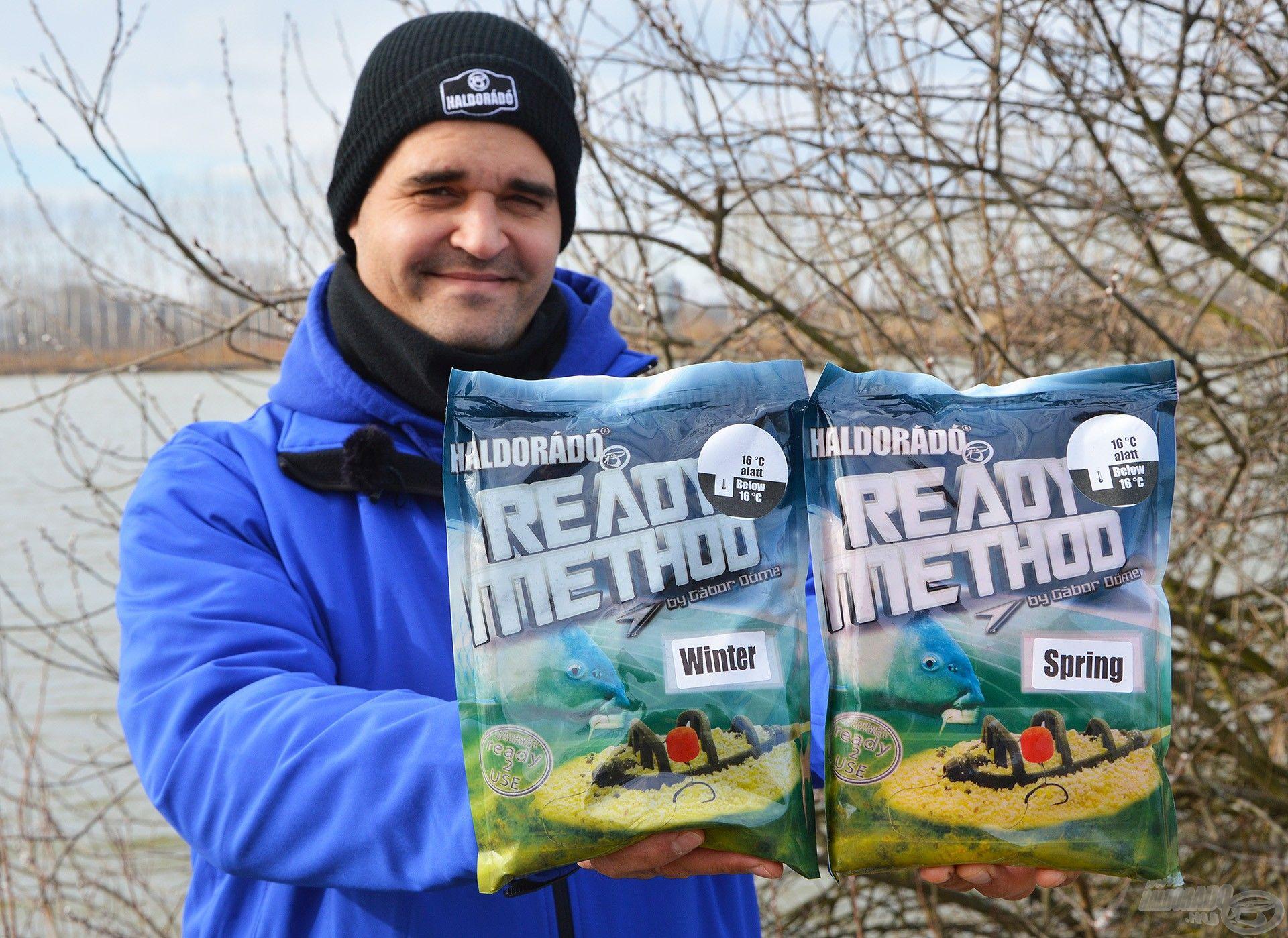 A Winter és a Spring kifejezetten a hideg vízi horgászatokra való