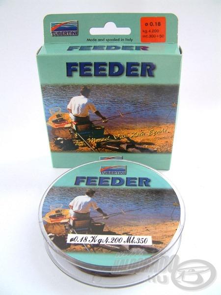 Tubertini Feeder Line, talán a legnépszerűbb speciális feeder damil