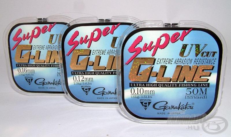 Gamakatsu Super G-Line az egyik leglágyabb damil, amely kiváló horogelőke is egyben