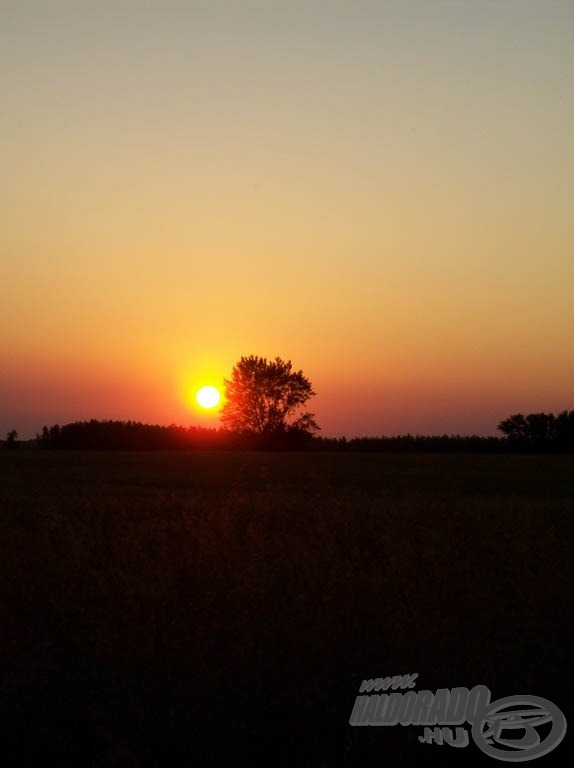 Gyönyörű naplemente
