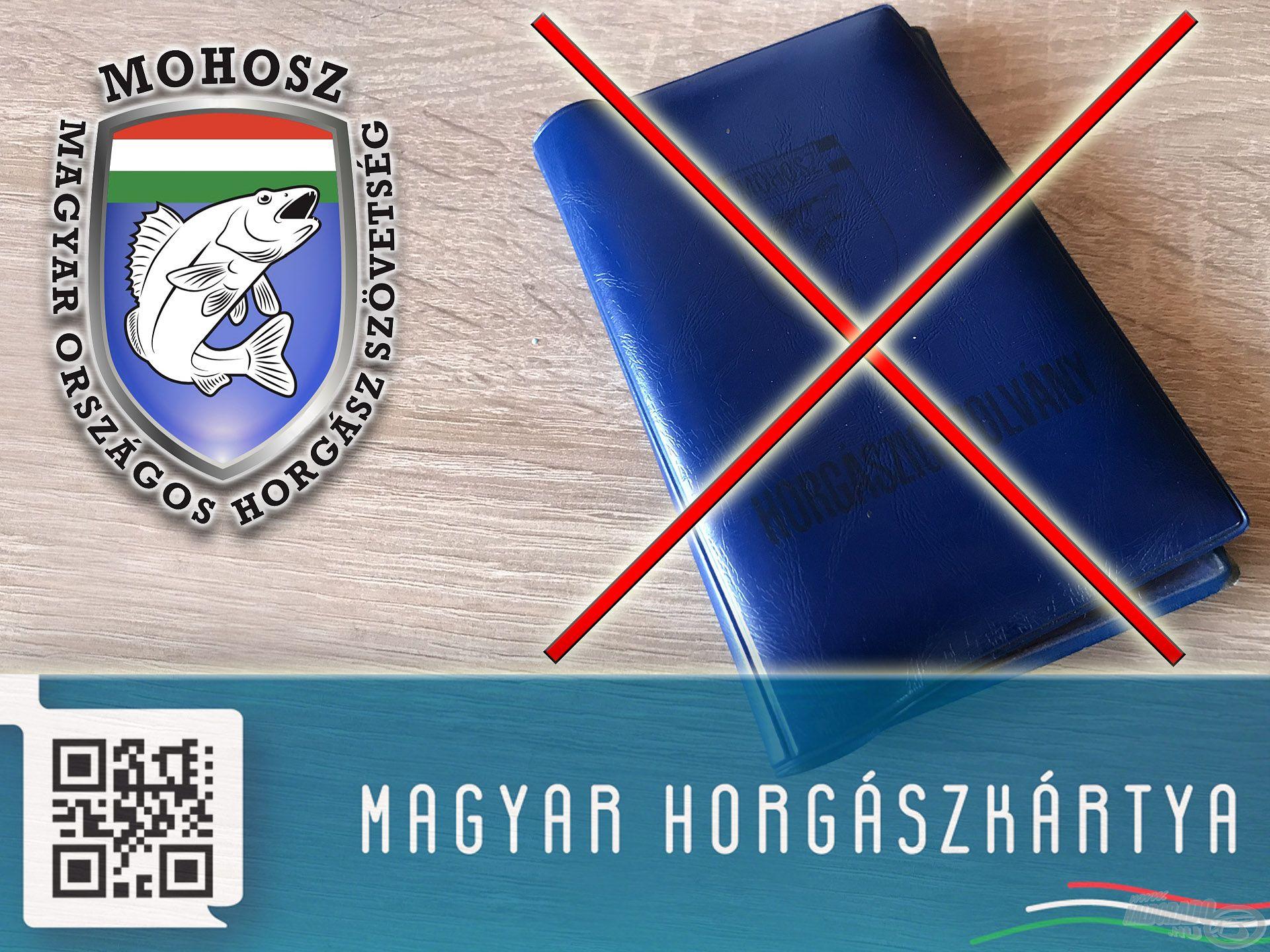 A Magyar Horgászkártya 2019. január 1-jét követően azonnal kiváltja a jelenlegi papír alapú horgászigazolványt