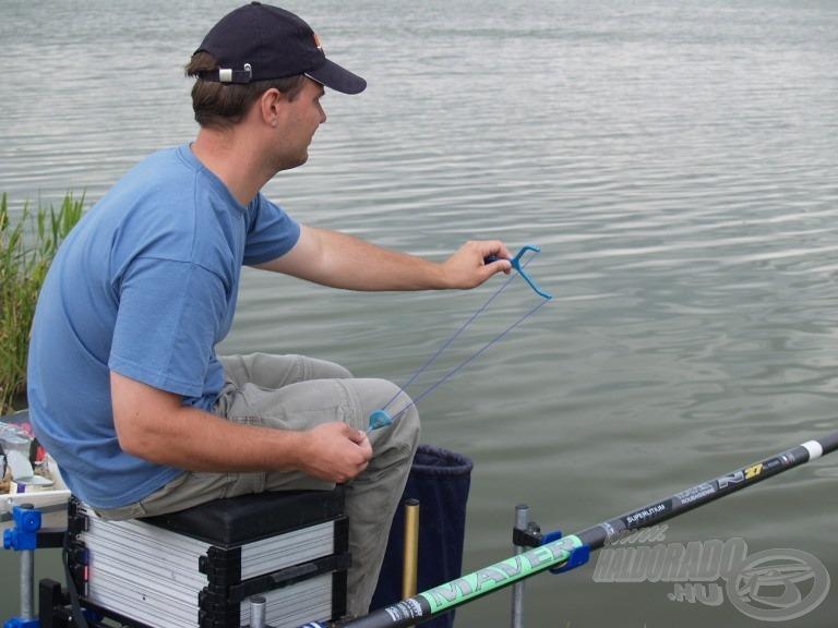 Alapozás után a halak helyben tartásáról a folyamatos csonti csúzlizásával…