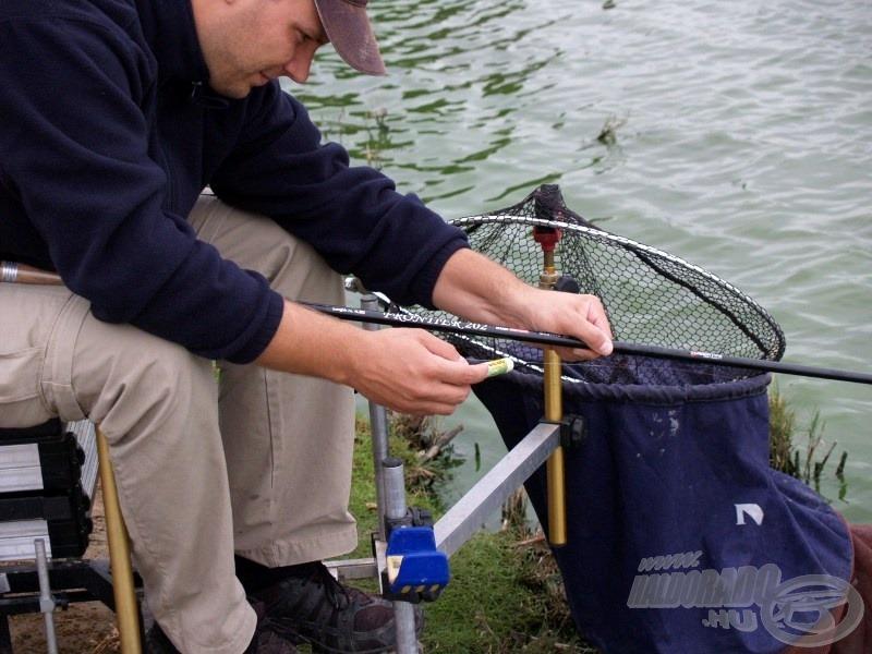 Akár 15, akár 50 méterre horgászunk, az etetés pontos megjelölése elengedhetetlen
