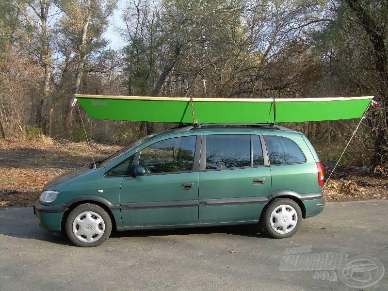Mobil csónak építésének rejtelmei 1.rész