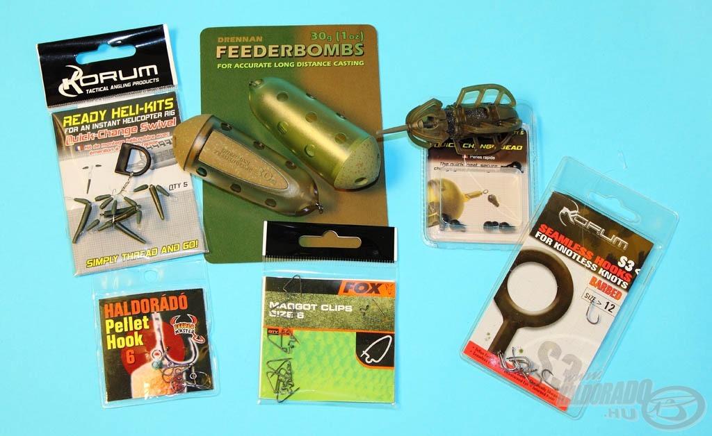 A mai írásban ezekből a termékekből állítunk össze pár igazán fogós végszereléket