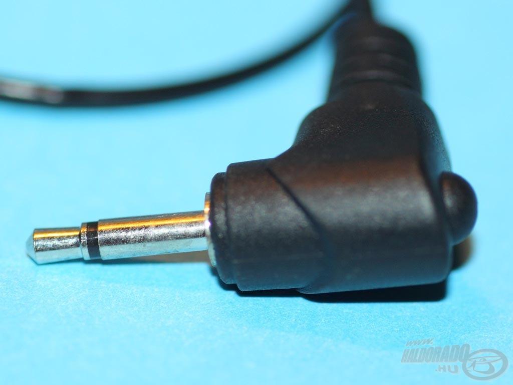 A LED csatlakozója szabvány jack dugó