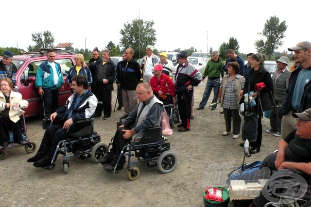 Mozgássérültek Horgászversenye 2010.