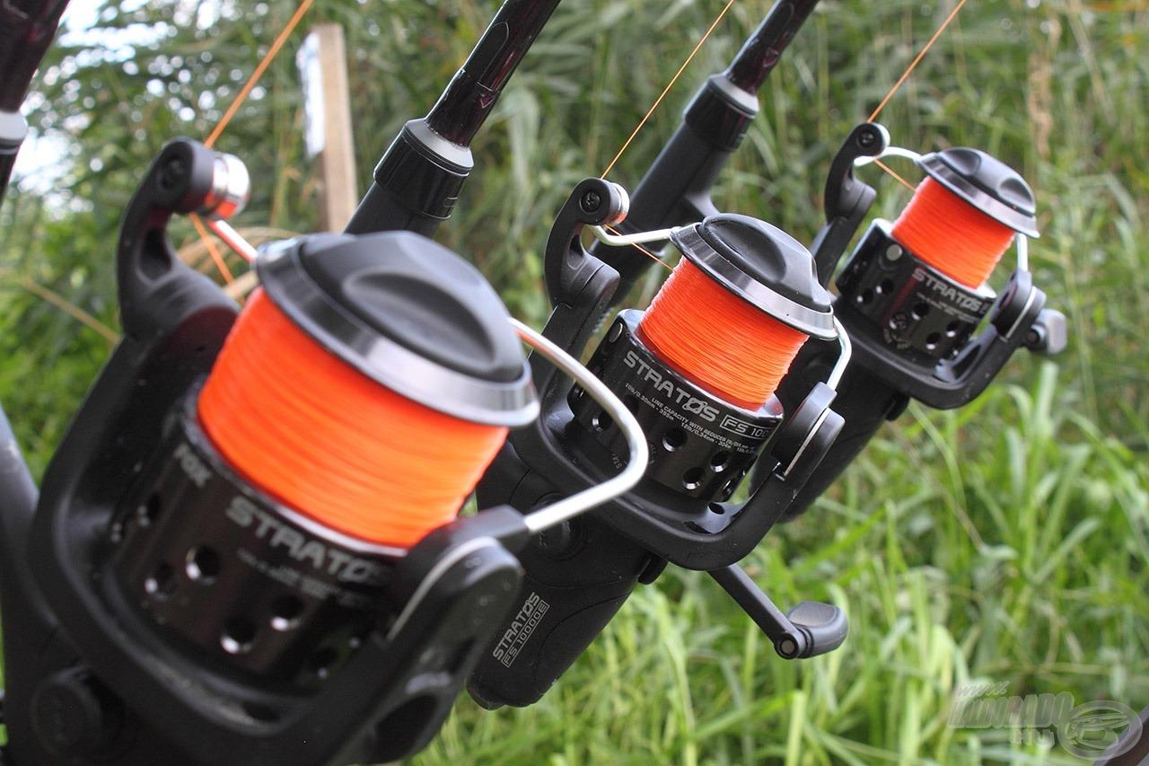 A fluo narancs szín nagyon jól látható, az egyik legkedveltebb a modern pontyhorgászok körében