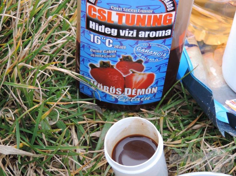 Hidegebb vizeknél elengedhetetlen adalék a Haldorádó CSL Tuning hideg vízi aroma
