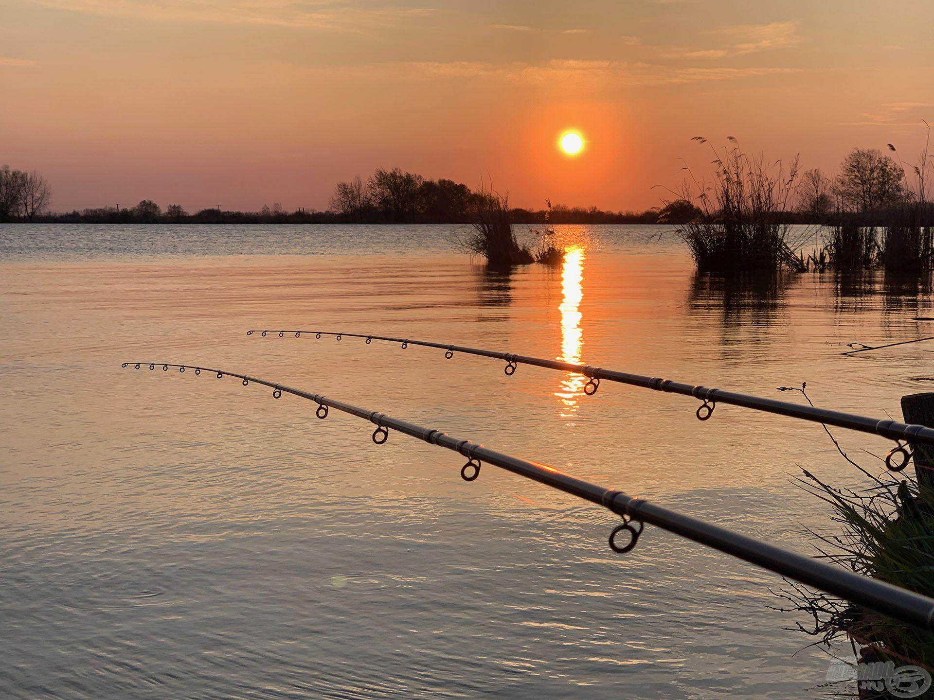 … nem bírtuk abbahagyni a horgászatot