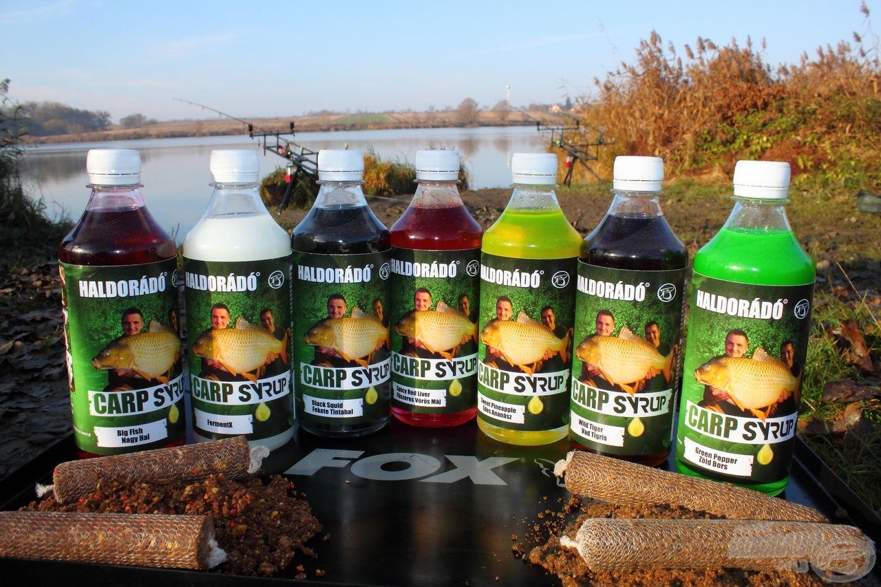 Az új Carp Syrup aromacsalád a nagyhalas horgászathoz készült