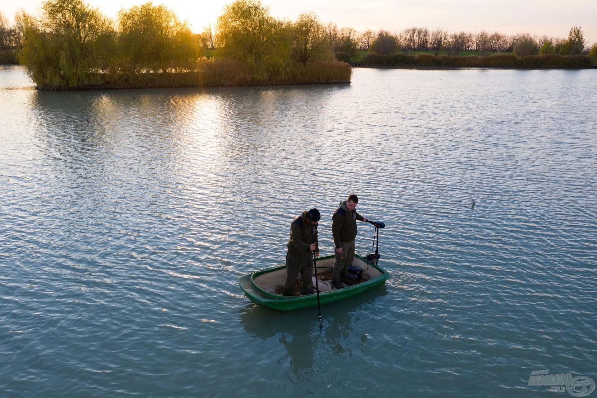 Ezen az álláson még egyikünk sem horgászott, ezért indokolt volt az alapos helykeresés