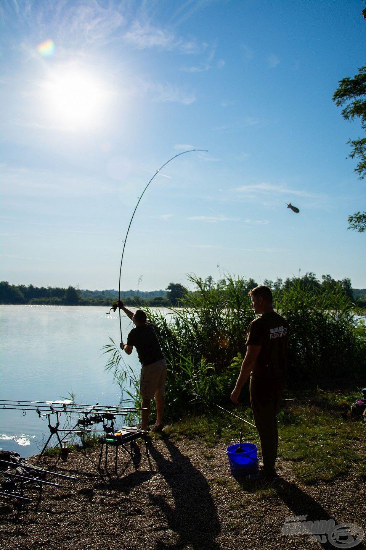 """No Spombing – No Fish!"""" Ez nagyon fontos és meghatározó része a Šumbar-tó eredményes horgászatának"""
