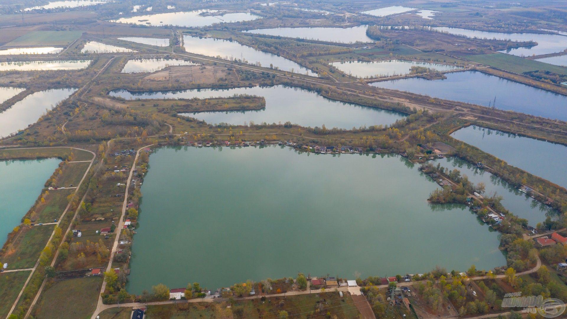 Dunavarsány határában számtalan tó található, ebből mi a Petőfi HE tavát választottuk