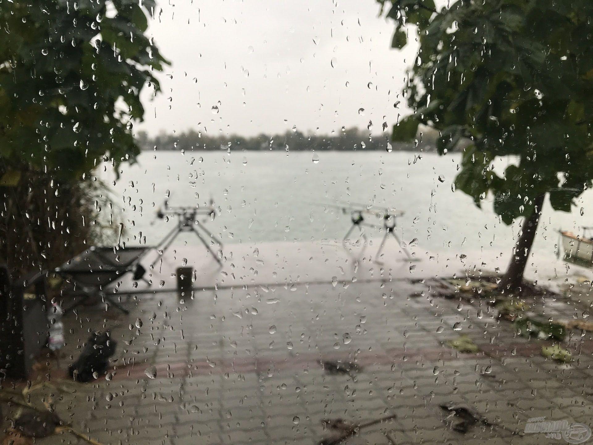 Örök igazság: ha az előrejelzés azt írja, hogy 90% esélye van az esőnek, akkor bizony esni is fog!:)