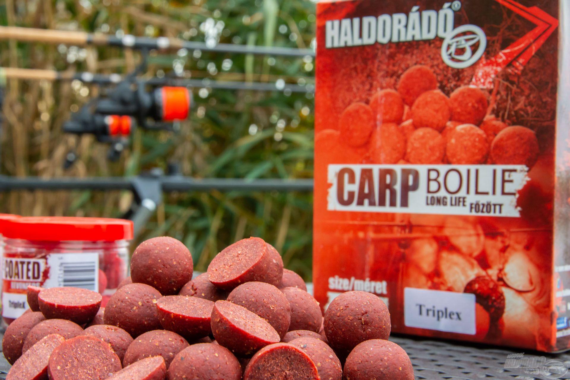 A 24 mm-es főzött bojli hatékony segítség a szelektív nagyponty-horgászatban