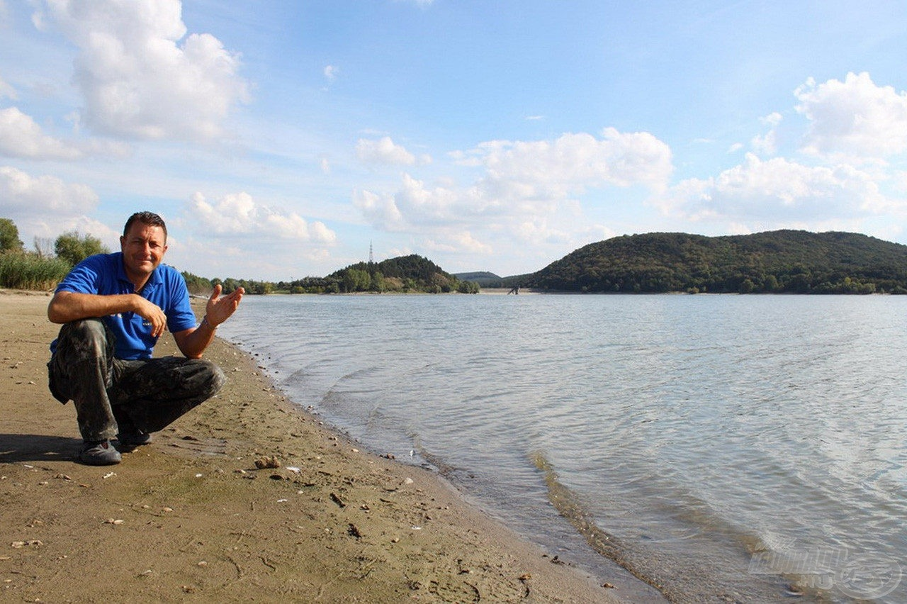A nagy kiterjedésű Fehérvárcsurgói-víztározón a vállalkozó kedvű horgászoknak komolyan fel kell készülniük!