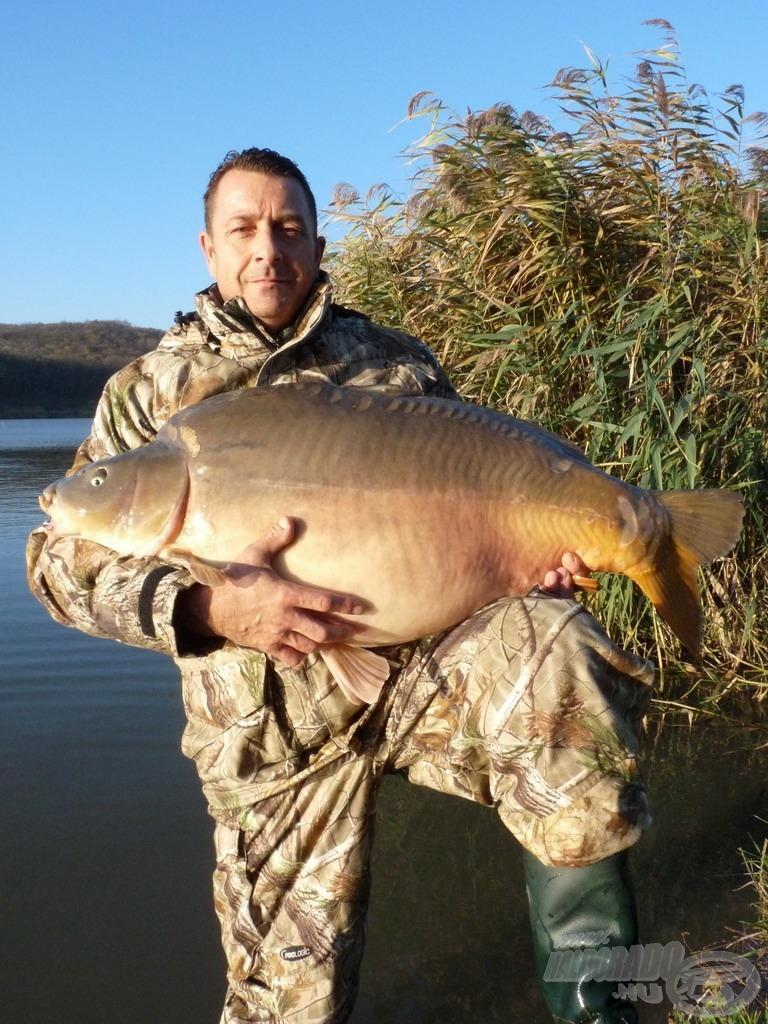 Pontos súlya: 25,12 kg!!!