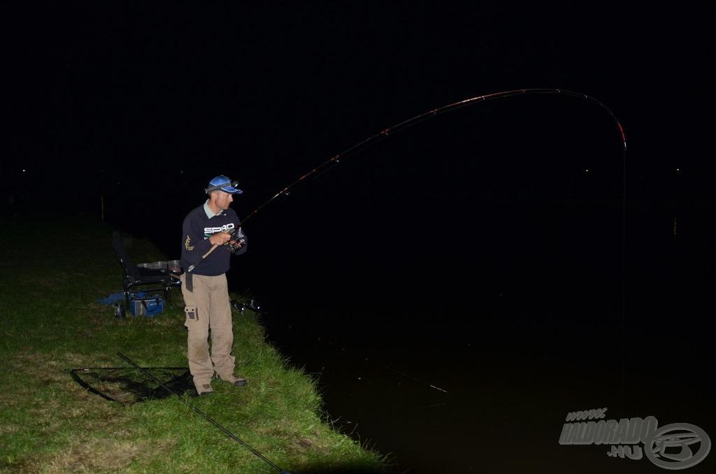 Horgon ez első éjszakai halam