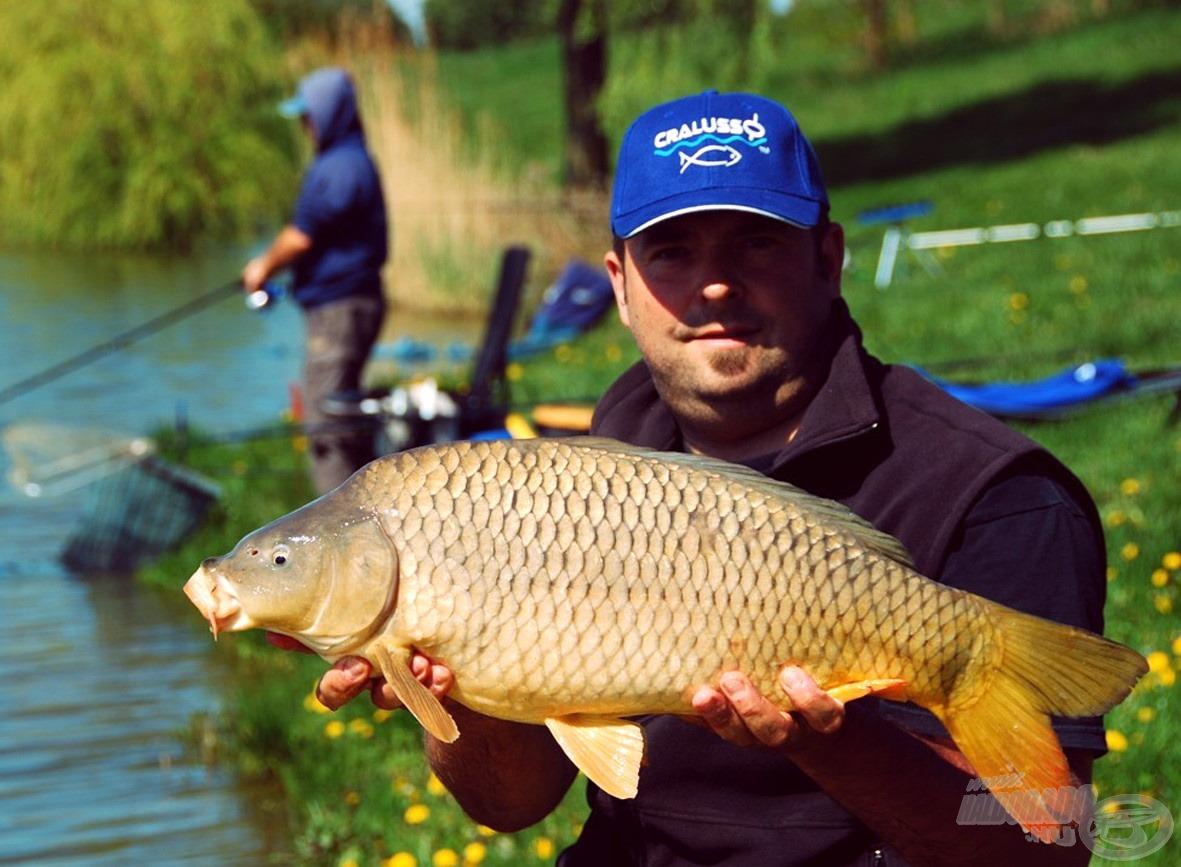 Gyönyörű, erős és egészséges halak tesztelték felszerelésünket