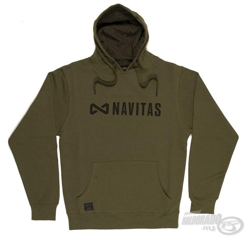 A NAVITAS Core Hoody vízparton és utcán is kényelmes viselet