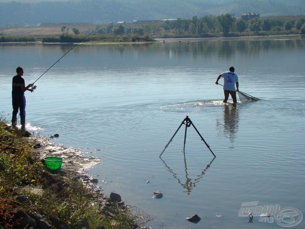 Most ismét nehéz körülmények vártak a horgászokra, ...