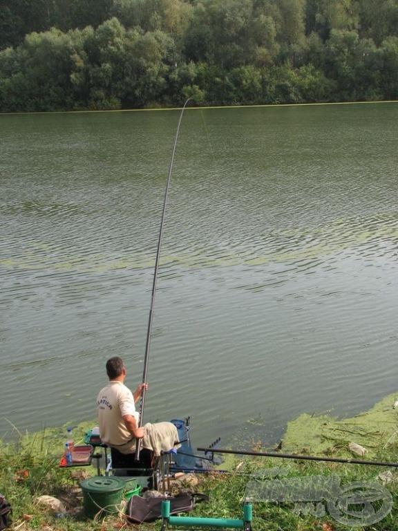 Tudást, idegeket, horgászszerencsét próbára tevő küzdelemnek voltunk a szemtanúi