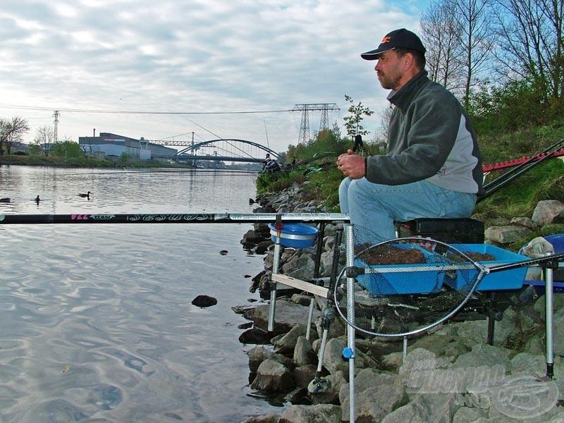 Erdei Attila, az új csapattag nagyszerűen horgászott! Egyéniben a 14. helyet szerezte meg