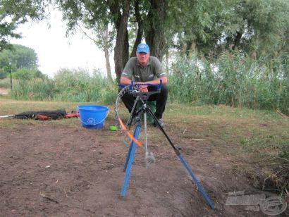 Nevis Envy Feeder 390H bot teszt 1. rész - Teszthorgászat állóvízen