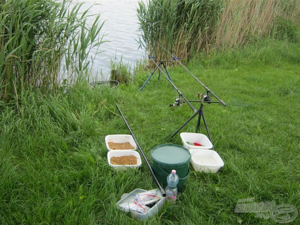 Így nézett ki a horgászállásom
