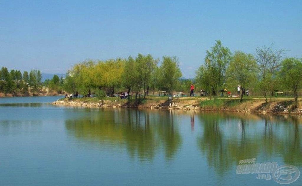 A DCM horgásztó