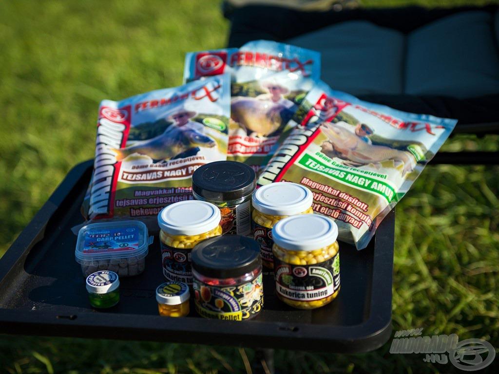 A nyári horgászatok során eredményesek lehetünk a Haldorádó FermentX etetőanyagokkal és a Kukorica Tuning csalikkal