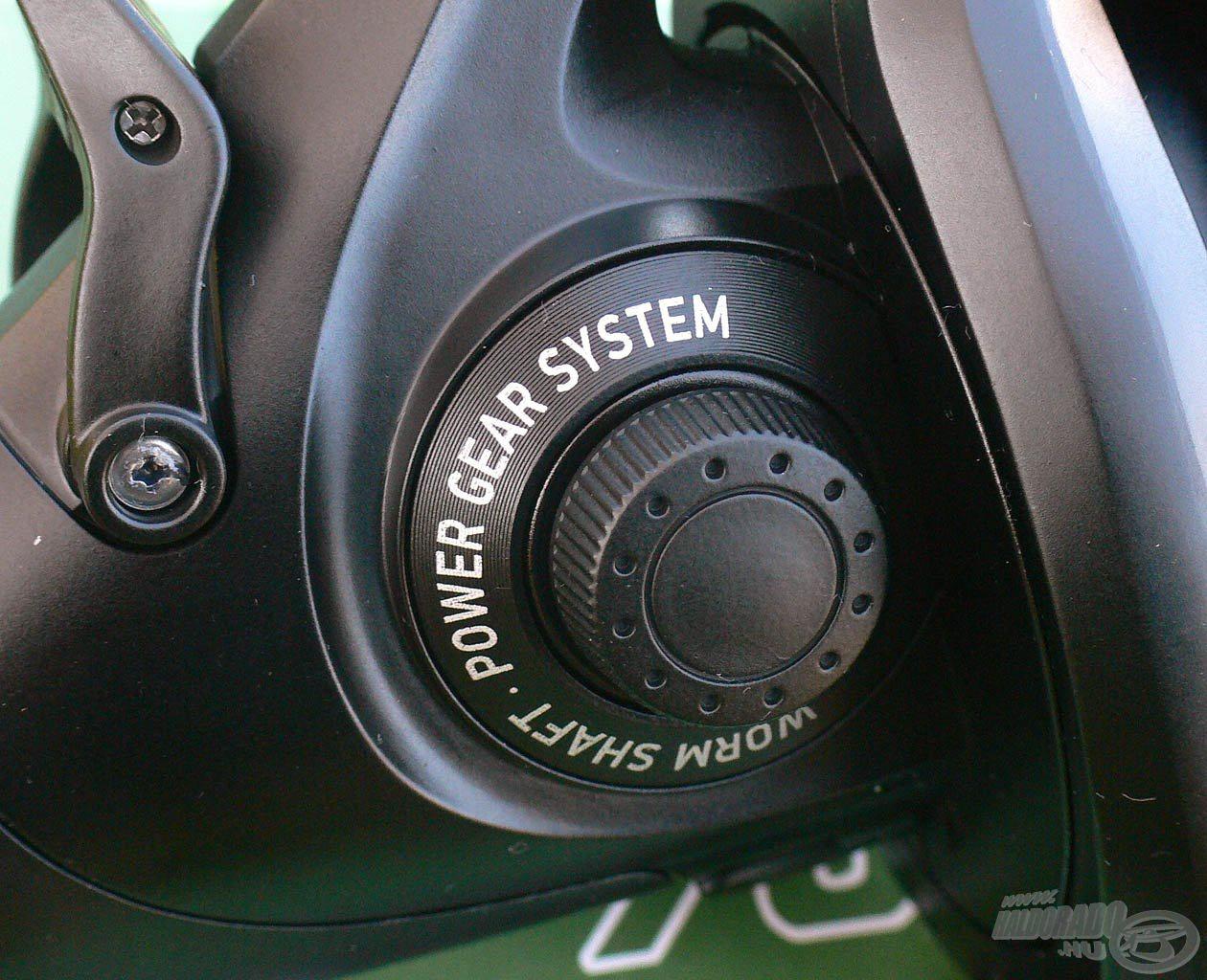 Worm Shaft rendszert ennél a modellnél is használja a gyártó
