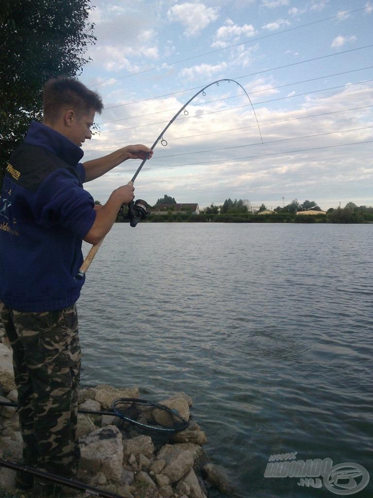 Nagyon jó erőben vannak a Lencsés-tó halai