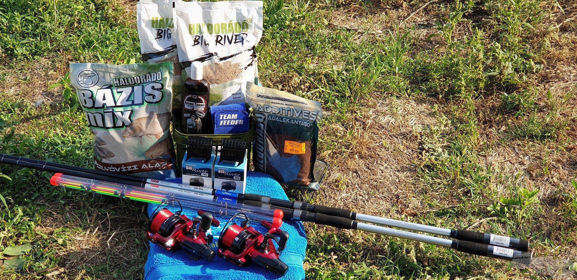 A horgászatra szánt csalogatóanyagok és felszerelések