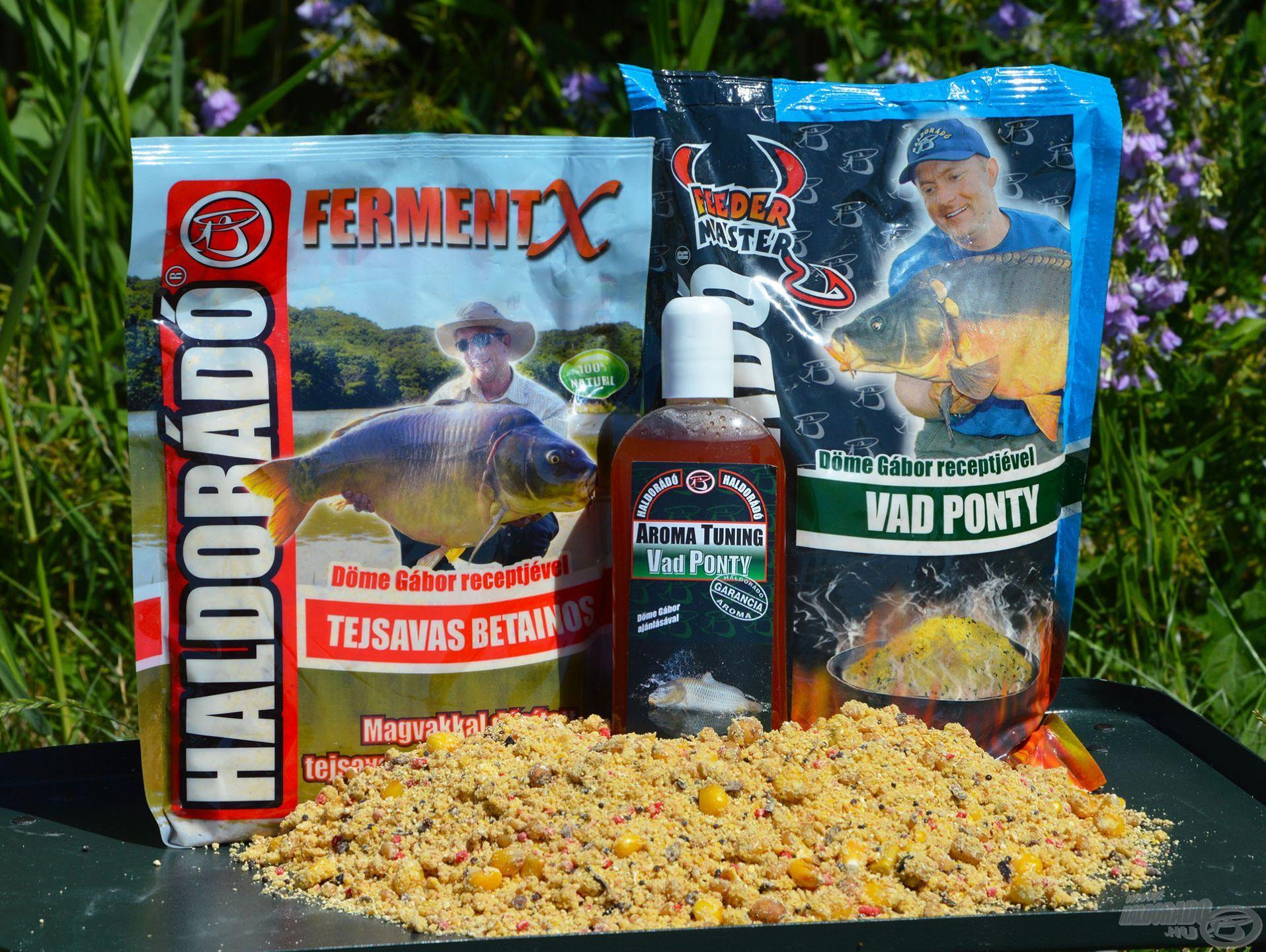 A Vad Ponty és a FermentX Tejsavas Betainos etetőanyag kellemesen fanyar kombinációja fantasztikusan működik a nyári horgászatok során szinte bármilyen vízterületen!