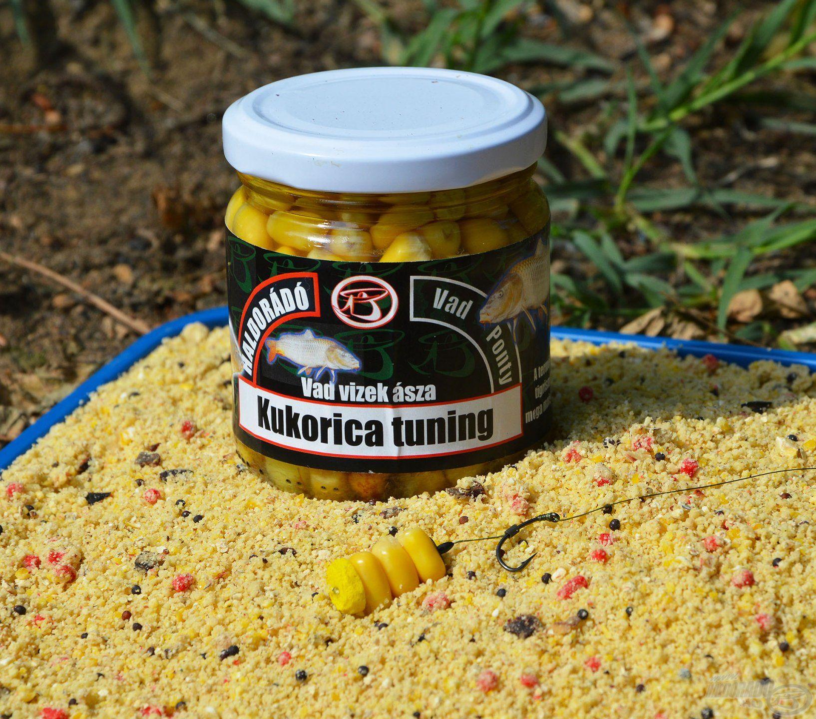 A Vad Ponty Kukorica Tuning ez egyik legegyszerűbb és legfogósabb pontyos csali, ami sok éve elmaradhatatlan részét képezi a csalis táskámnak, bárhova megyek horgászni!