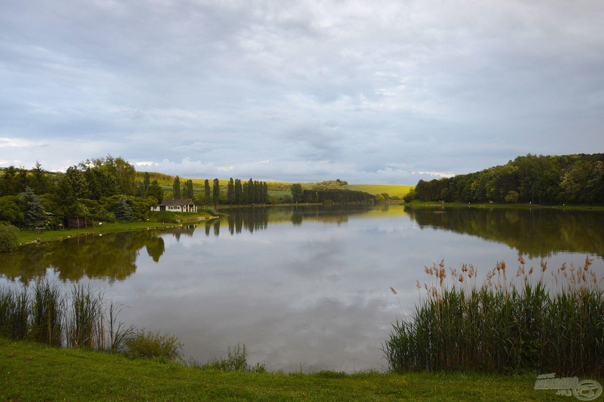 Legújabb nyári horgászkalandunknak a festői szépségű Gyermelyi Horgásztó adott otthont