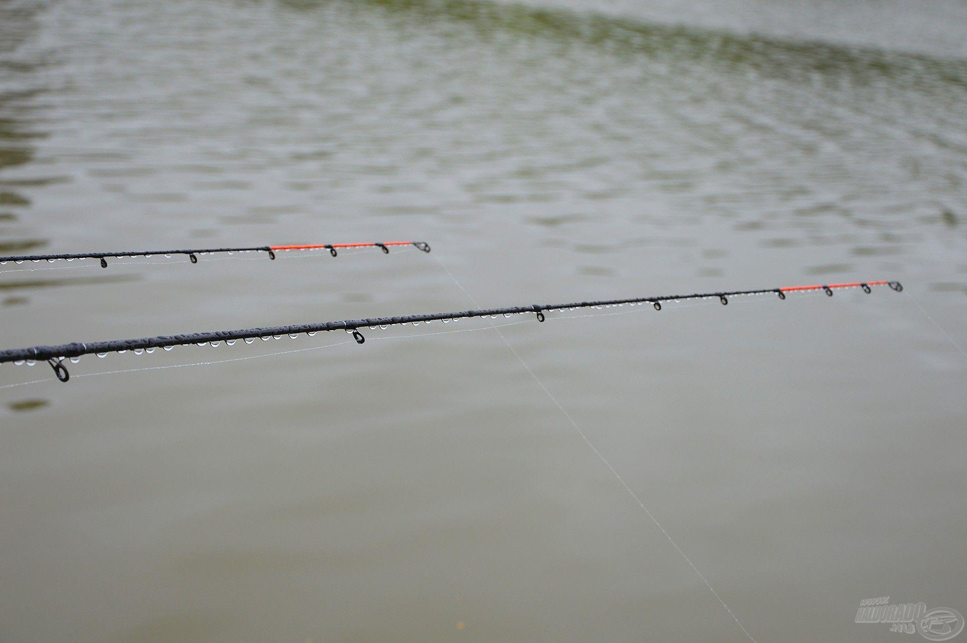 Amíg a vihar tombolt, felfüggesztettük a horgászatot