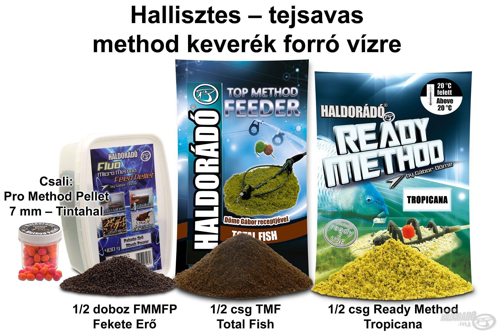 Hallisztes – tejsavas method keverék forró vízre